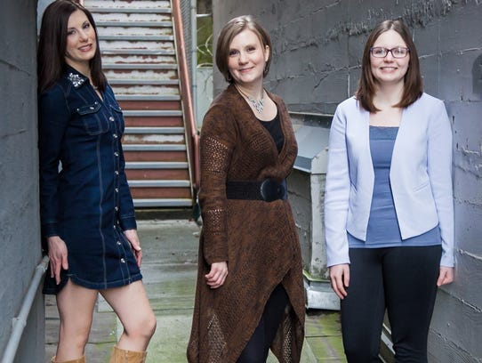 The bluesy Severin Sisters will perform 5 p.m. Saturday,