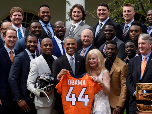 Barack Obama, Annabel Bowlen