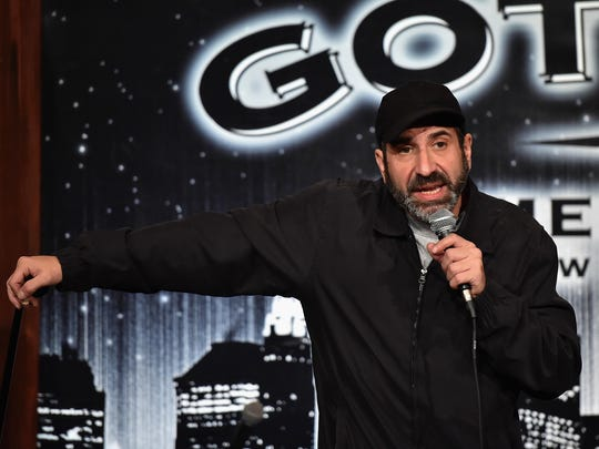 New York City comic Dave Attell is at Mark Ridley's Comedy Castle in November.