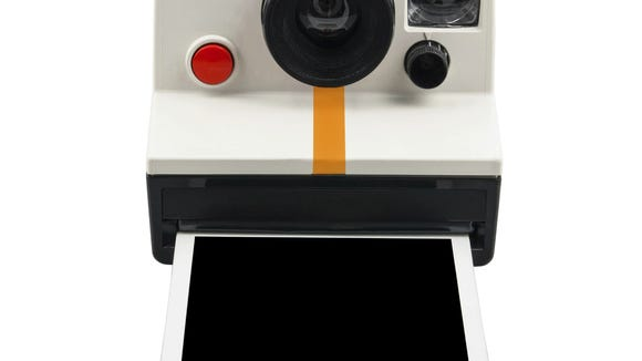 Instant camera and photo