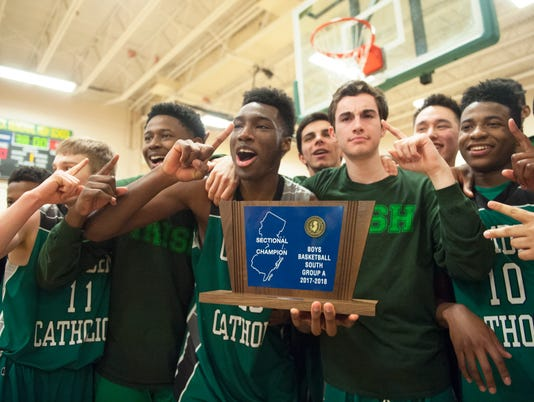Camden Catholic boys basketball