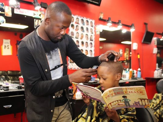 Plainfields Books Barbers And Dads Program Inspires Kids To Read