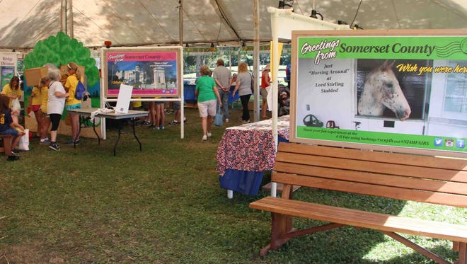 County offices, agencies and services willbe represented at the Somerset County 4-H Fair.The fair will run from 10 a.m. to 10 p.m. Aug. 9 to 11at the Somerset County 4-H Fairgrounds at North Branch Park on Milltown Road in Bridgewater.