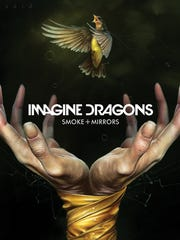 The cover of Imagine Dragons' 'Smoke + Mirrors,' out