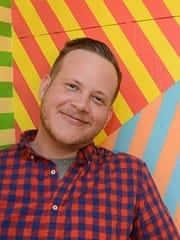 Van Holmgren, an artist in Des Moines, will be a storyteller