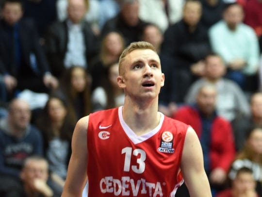 21. Utah Jazz: F Dzanan Musa, Cedevitas (Croatian League).