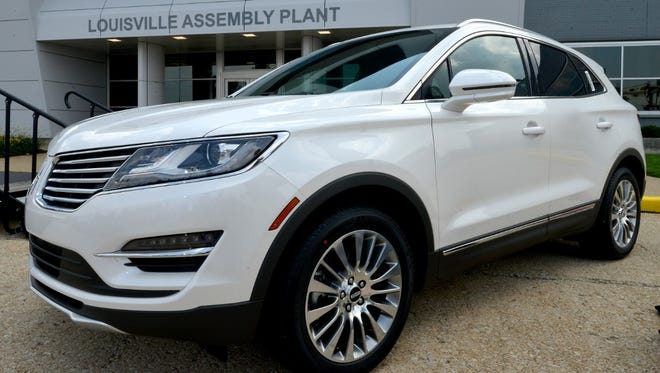 Lincoln MKC compact crossover SUV introduced Friday in China. Lincoln, a Ford Motor brand, hopes the SUV will lead boom there, revival in U.S.