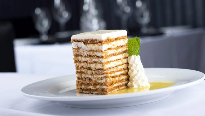 Funds raised from the sale of Ten Layer Carrot Cake at Ocean Prime steakhouse in Naples on Feb. 3 and Feb. 5-9 support No Kid Hungry in an effort to end childhood hunger.
