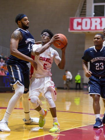 Cornell point guard Robert Hatter ranked third in the