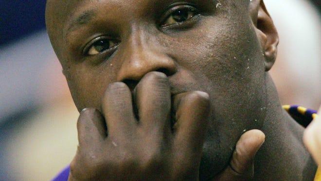 Lamar Odom in April 2007.