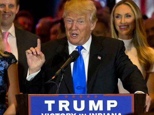 AP GOP 2016 TRUMP BREAKING THE RULES A ELN FILE USA NY