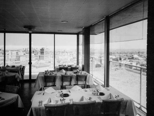 Dale's Penthouse prior to the fire in 1967