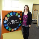 Shoe Carnival, in Guernsey Crossing, is set to open Friday.