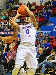 Louisiana Tech guard Alex Hamilton scored 14 points