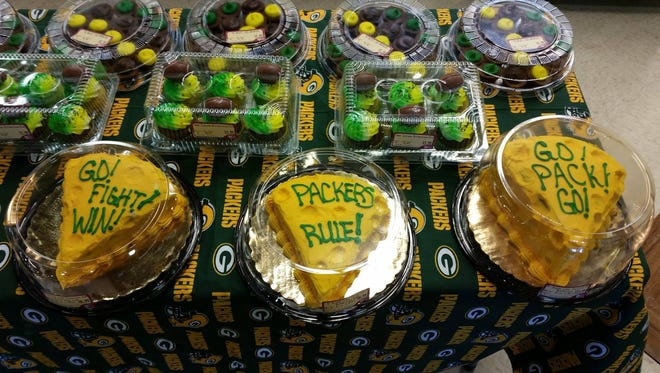 Green and gold eats are sure to be popular again this week.