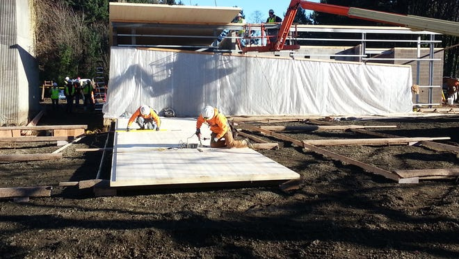 Oregon lumber mill becomes first in U.S. certified to produce new wood building material