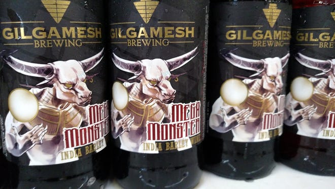 Gilgamesh is releasing its latest creation, Mega Monster, an India Barley Wine, in 22 ounce bottles.