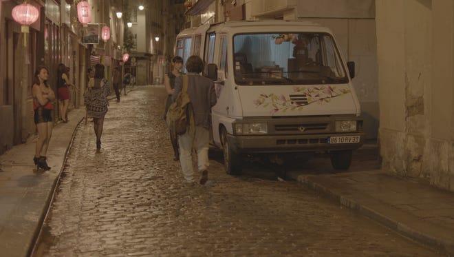 "A scene from ""A Korean In Paris"""