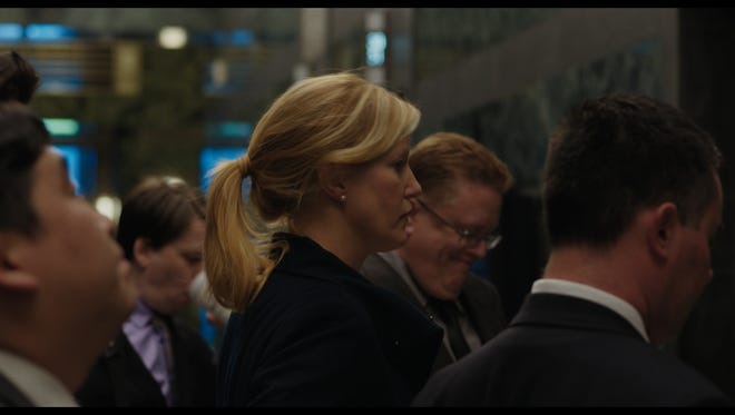 "Backed by three Rutgers alumnae, ""Equity"" stars Anna Gunn, pictured, of AMC's ""Breaking Bad"" as a Wall Street investment banker who gets passed over for a promotion and becomes entangled in an initial public offering scandal."