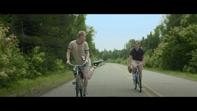 Paul Stanko (left) and Thatcher Robinson star in 'Superior,' which was filmed in the Upper Peninsula of Michigan.