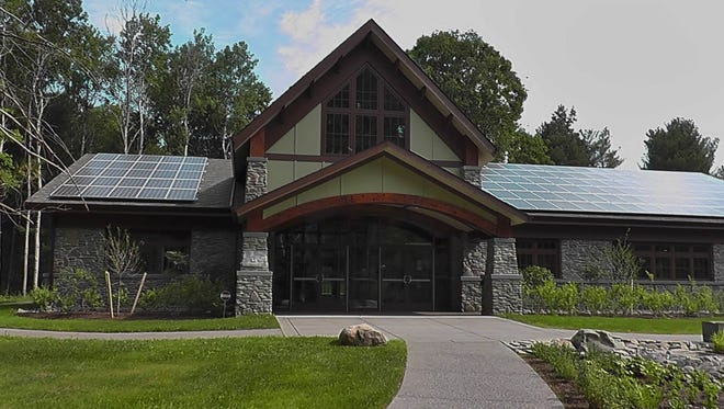 The new Humphrey Nature Center in Letchworth State Park opened June 20, 2016.