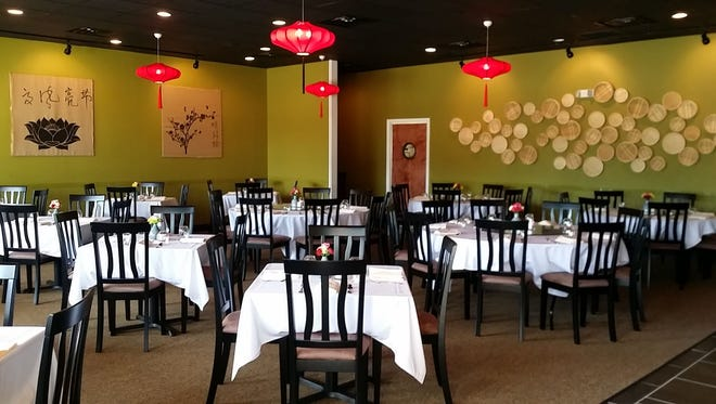 The interior of Tely's Chinese Restaurant in Suntree.