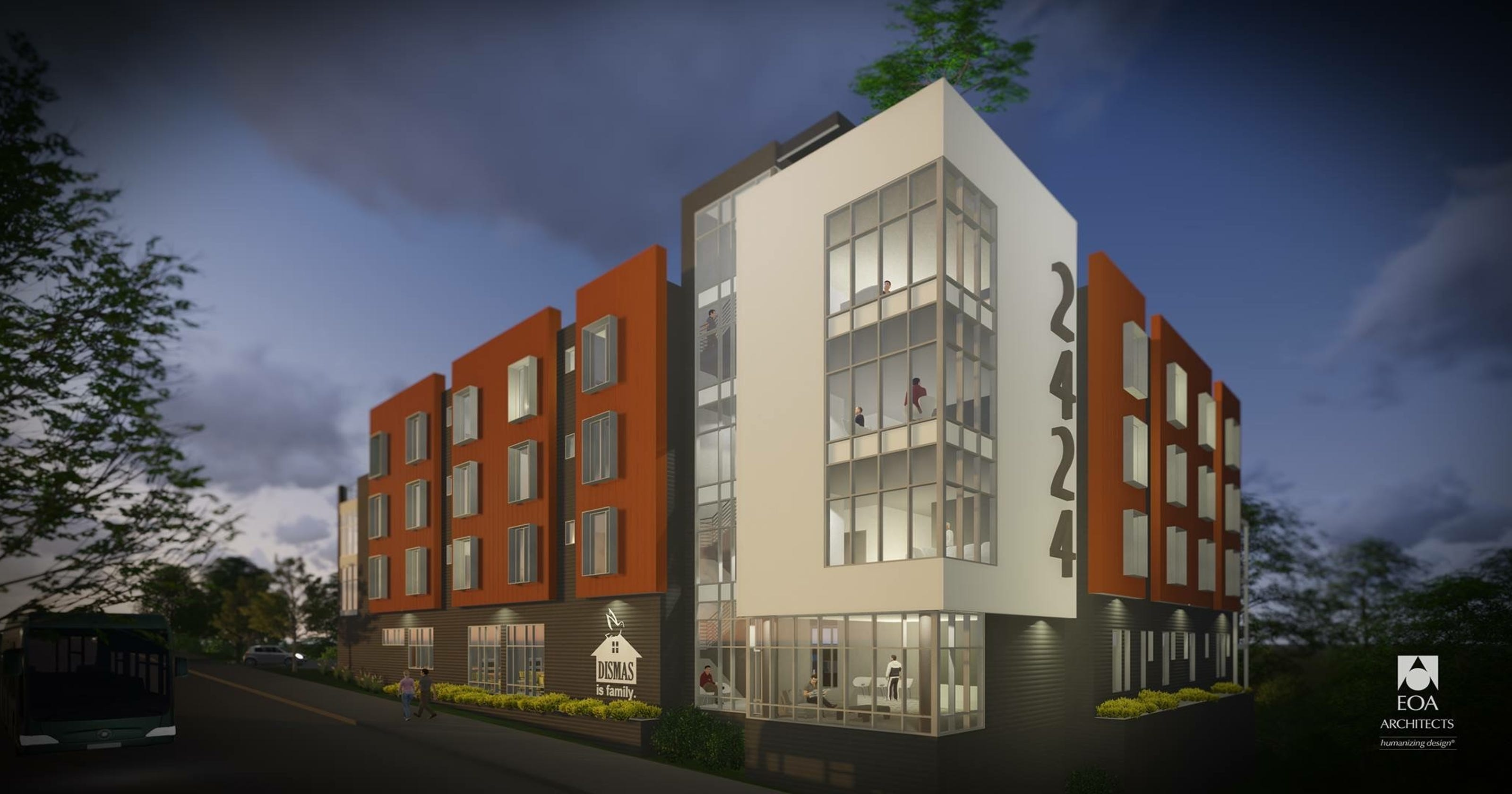 76 bed transitional housing project planned on charlotte avenue - What is a transitional home ...