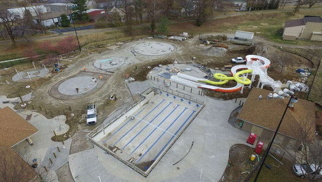 The Clarksville Family Aquatic Center, now named Clarksville Cove, will open in May.