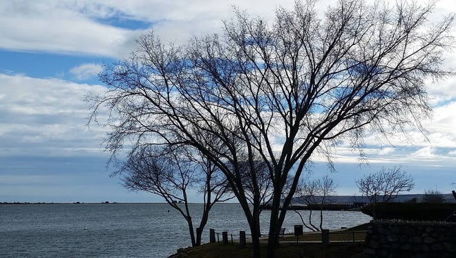 Foot Notes reader Linda O'Connell shares with us this picture she took while running in Plymouth, Mass.