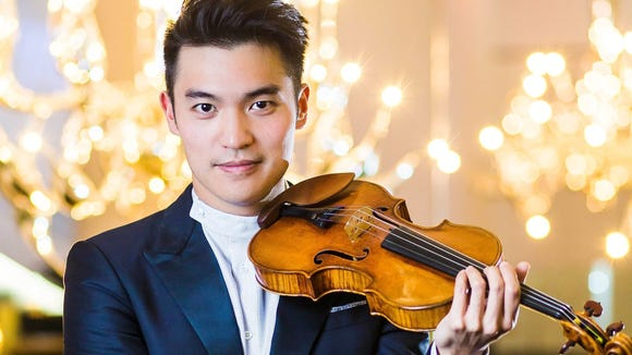 Ray Chen will be a featured performer in concerts Sept. 2 and 3.