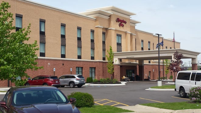 The 80-room Hampton Inn, located at 8068 Challis Road, held a ribbon cutting celebration in June after a soft opening in April.