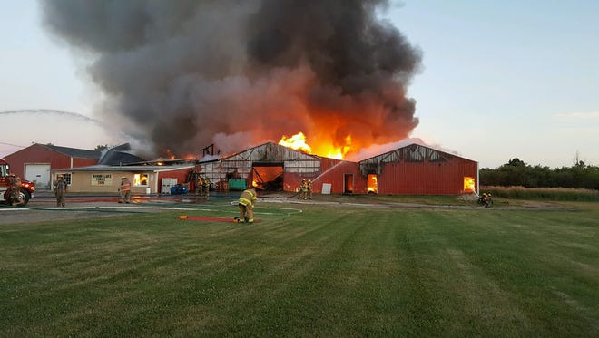 A massive fire at Round Lake Produce & Distributing's Round Lake Road location in July of last year destroyed the 40-year-old family business. Now the operation has opened at a new location with a market and more staff.