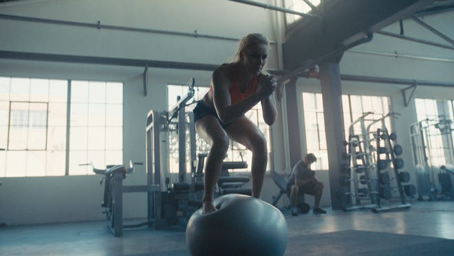 Lindsey Vonn appears in one of five commercials produced by NBC to be broadcast as part of the network's Super Bowl coverage.