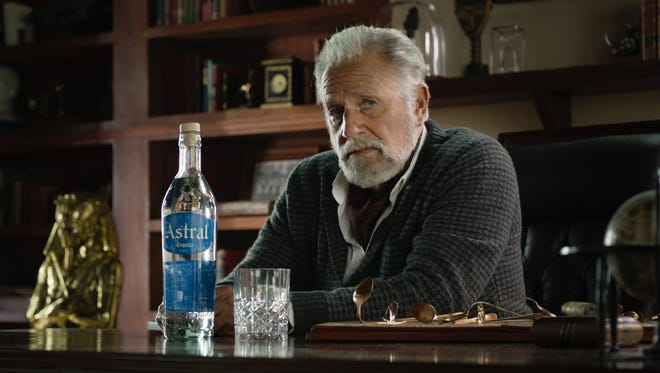Vermont resident Jonathan Goldsmith portrays a Most Interesting Man in the World-like character in new ads for Astral tequila.
