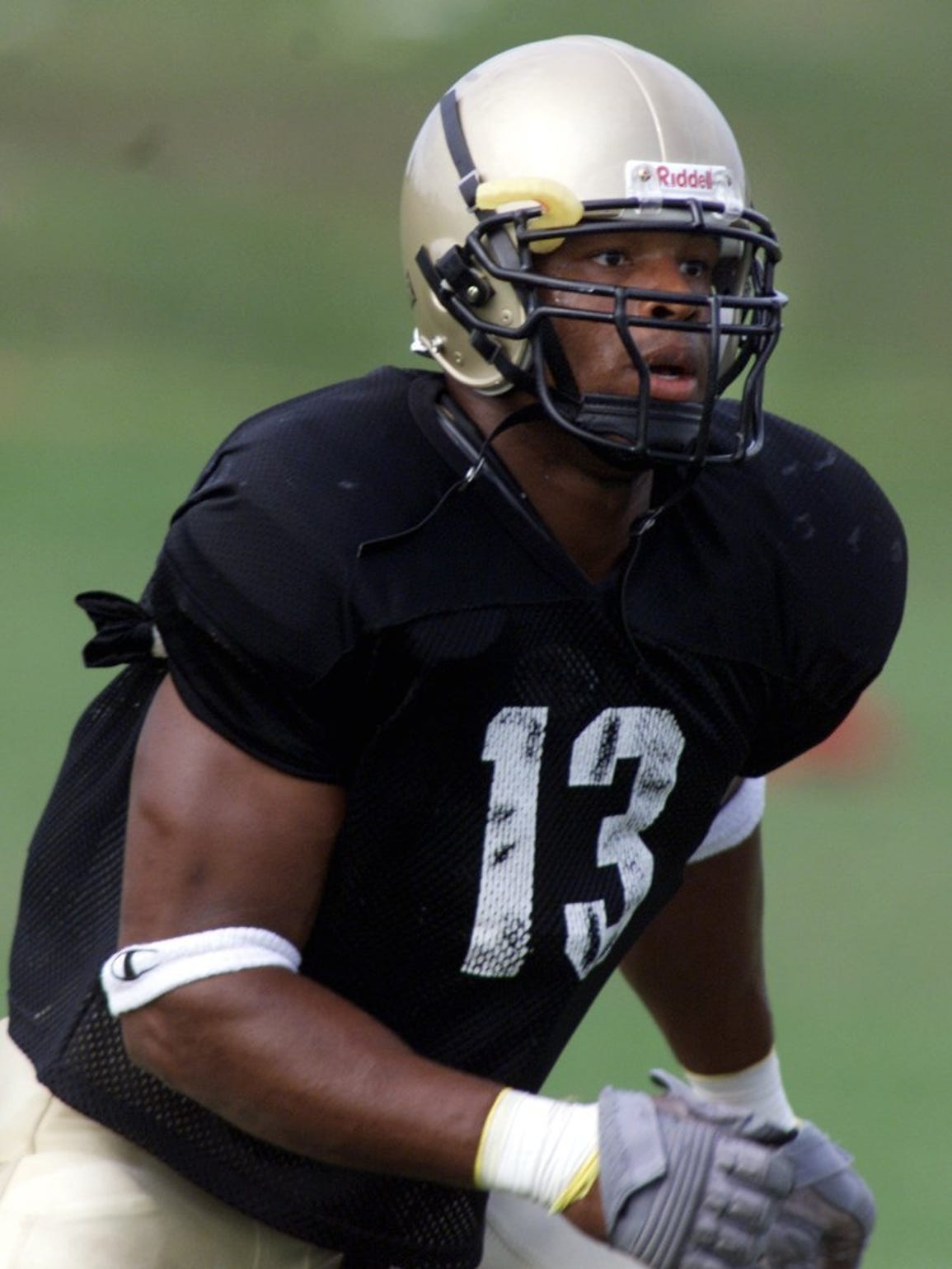 Akin Ayodele was one of the stars of Purdue's 2000