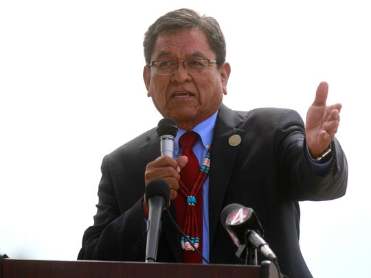 Navajo Nation President Russell Begaye has approved the tribe's amended budget for fiscal year 2017, but he vetoed more than $300,000 in requested appropriations.