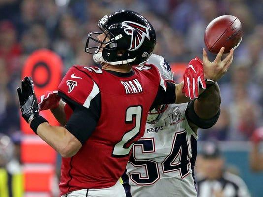 USP NFL: SUPER BOWL LI-NEW ENGLAND PATRIOTS VS ATL S FBN USA TX