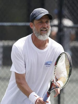 Steve Burdette, the USTA Alabama Player of the Year, is in the open division of the Pritchett Moore Men's City Invitational this year.