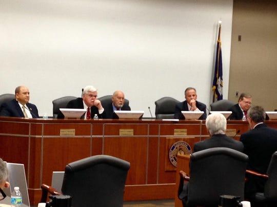 Louisiana Public Service Commissioners listen to testimony