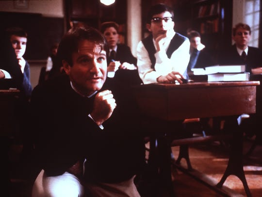 """Dead Poets Society"" was one of Robin Williams' first"