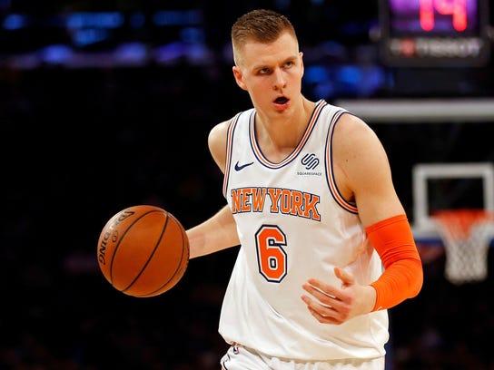 NBA Los Angeles Lakers at New York Knicks