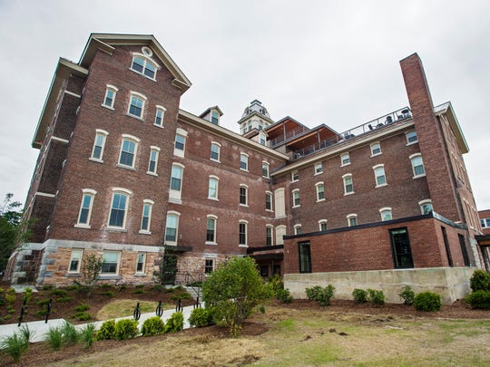 The site of the former Burlington College in Burlington on Wednesday, July 19, 2017.  The buildings and grounds are now part of a residential development project.