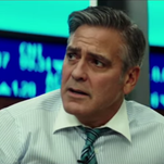 George Clooney isn't really having the best day.