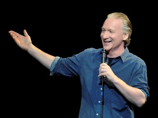 Comedian and political talk show host Bill Maher will