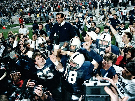 Joe Paterno led Penn State to its last national title