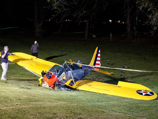 Harrison Ford S Airplanes : Report harrison ford botches landing at calif airport
