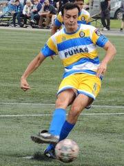 itsap Pumas midfielder Alvaro Rubio converts a penalty