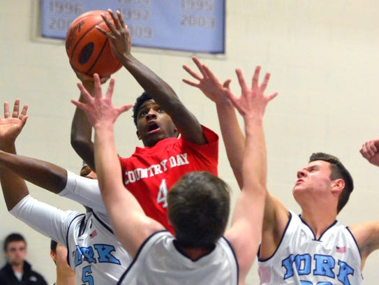 D.J. Hamilton has helped York Country Day to an undefeated