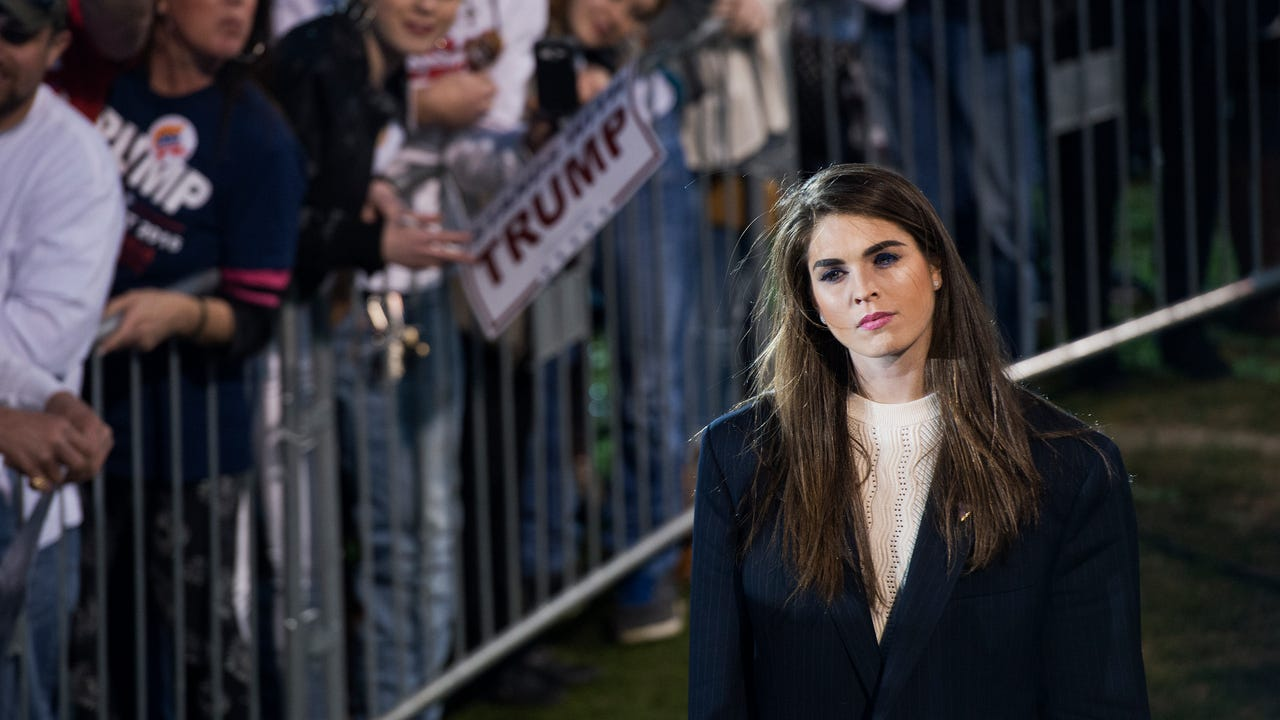 According to GQ, Hope Hicks is one of the most powerful people in Washington. Veuer's Nick Cardona has that story.