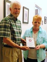 Brooks Eldredge-Martin presents the Jan Carpenter Award